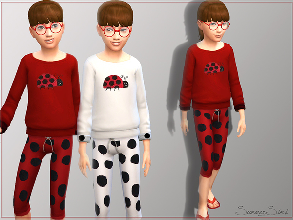 Ladybug set by Summer_Sims