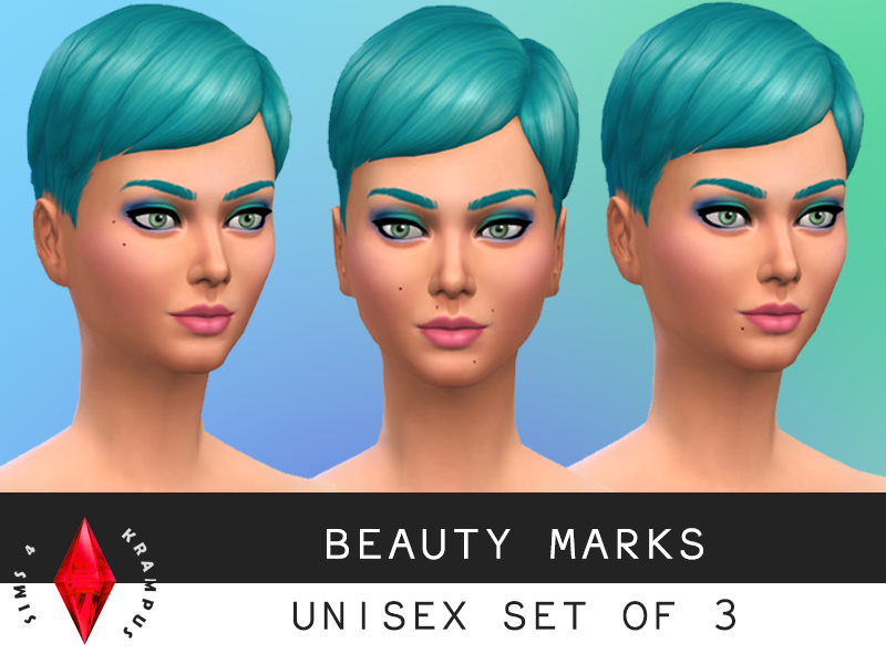 Beauty mark set at Sims 4 Krampus