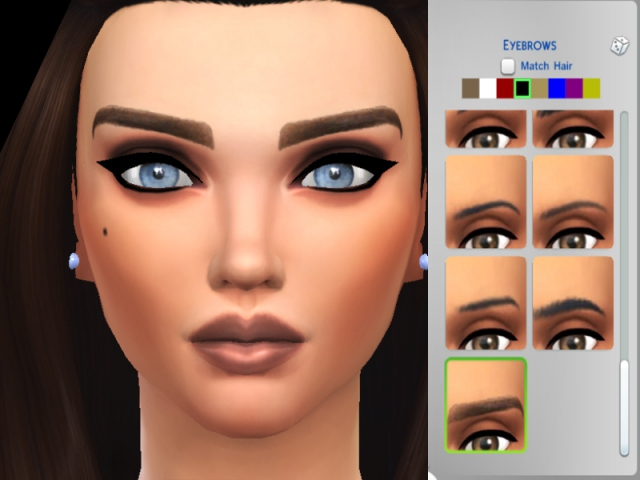 Perfect beauty eyebrows by Pinkzombiecupcakes