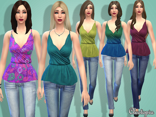 Set4 - Casual Mix&Match Set by Cleotopia