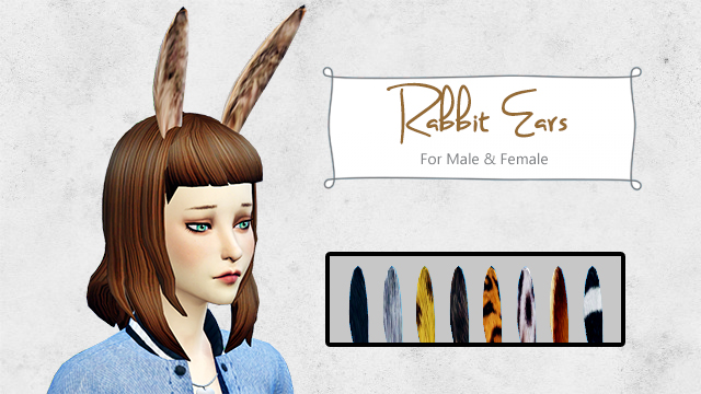 Rabbit Ears by Everythingnotsims