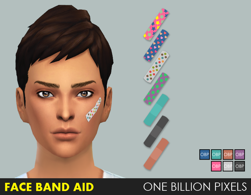 Face Band Aid by NewOne