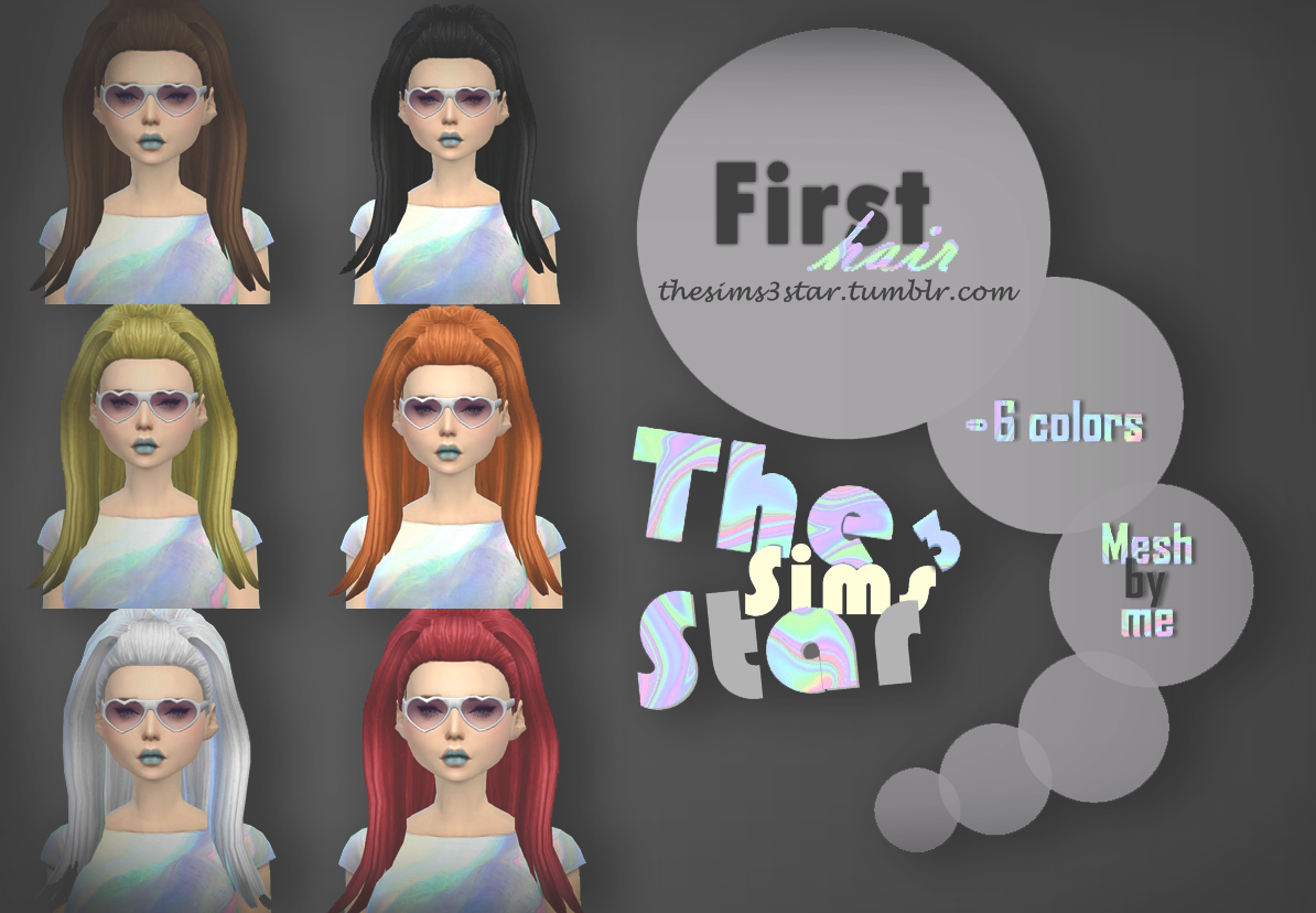 Hair 1 for Females by StarSims
