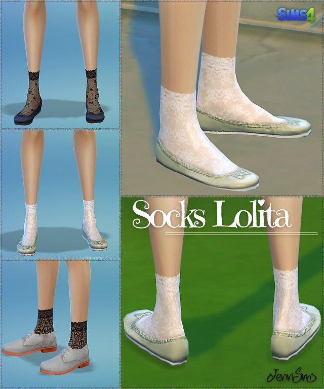 Accessory socks Lolita by JenniSims