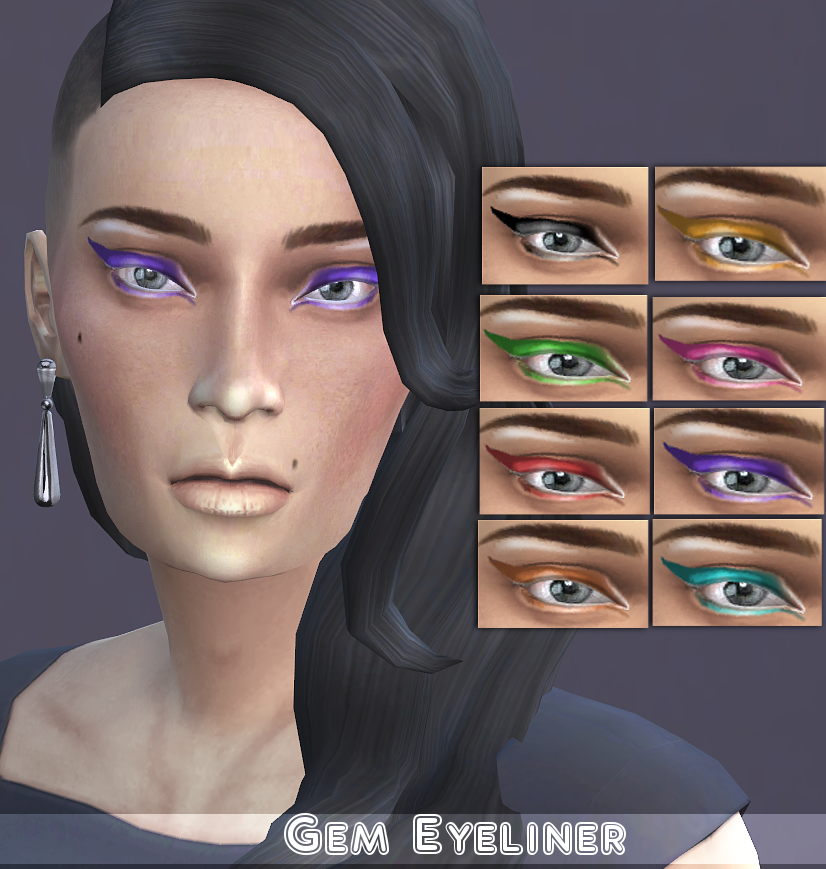 Gem Eyeliner by WhiteCrow