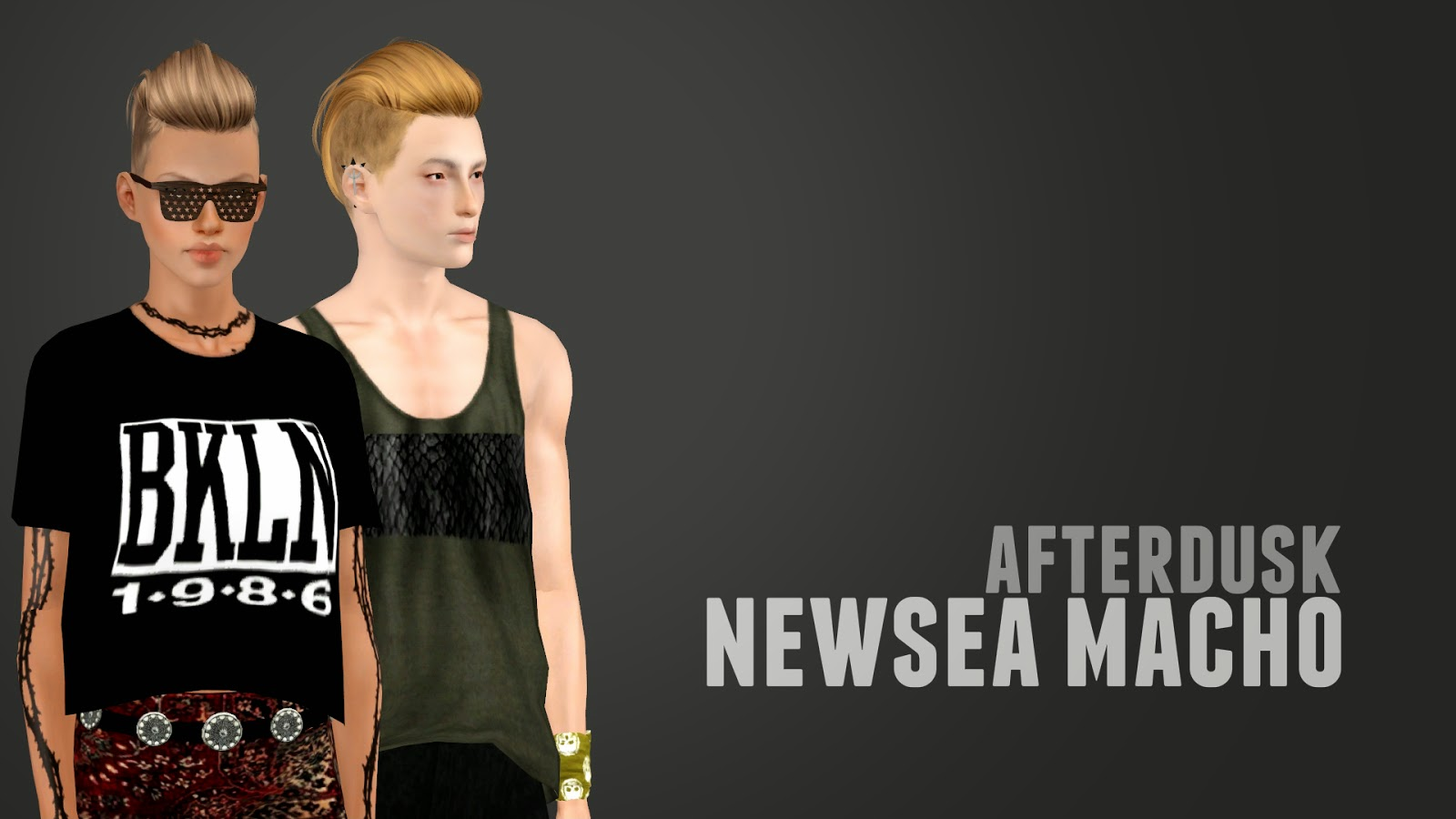 Newsea Macho Retexture by AfterDusk Sims