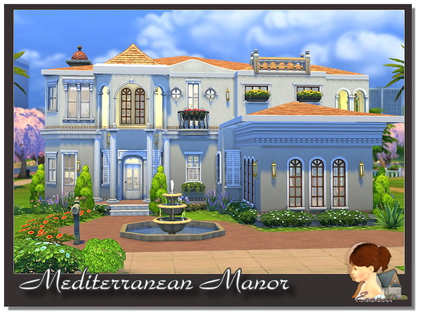 Mediterranean Manor by evanell