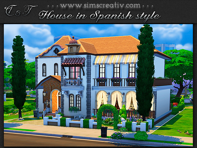House in Spanish style by Tanitas8