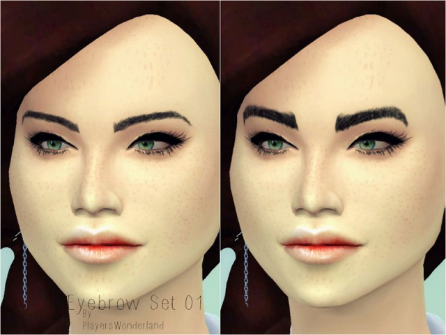 Eyebrow Set 01 by PlayersWonderland
