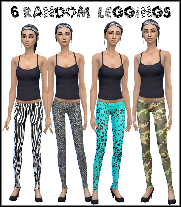 Leggings Collection for Teen - Elder Females by Simista