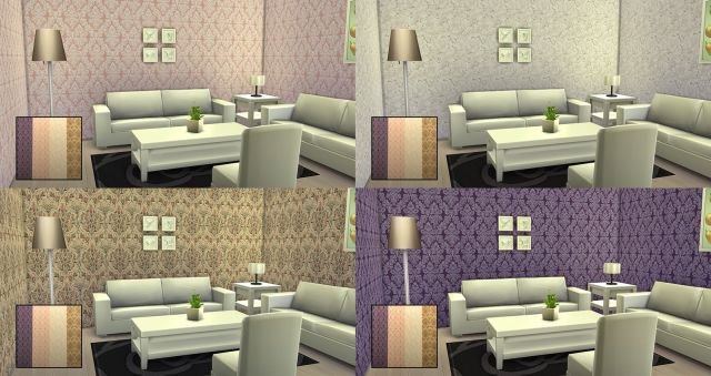 French Wallpaper Collection 01 by Simista