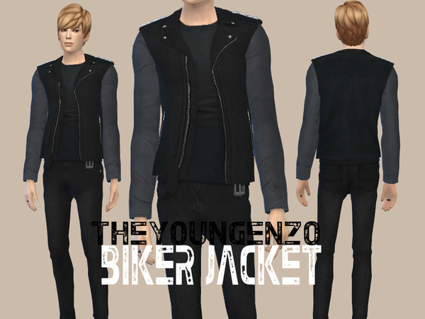 Biker Jacket by theyoungenzo