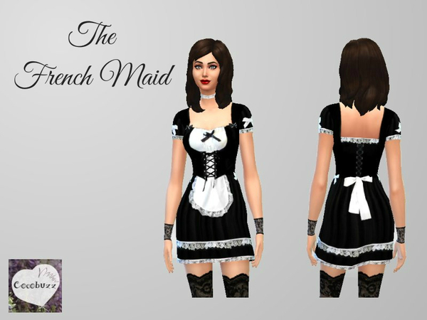 The French Maid by Cocobuzz