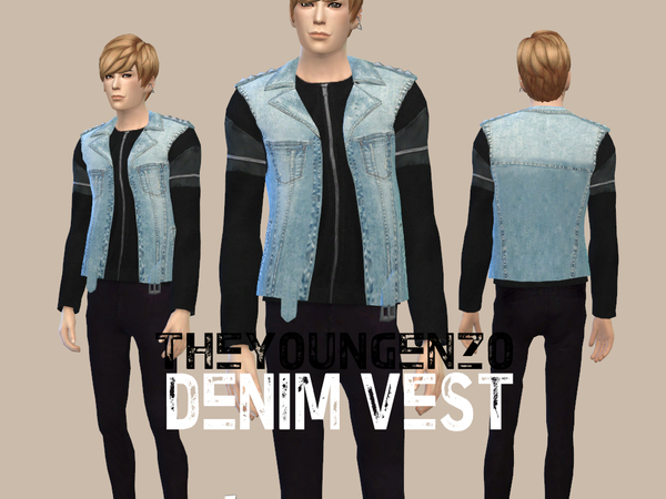 Denim Vest by theyoungenzo