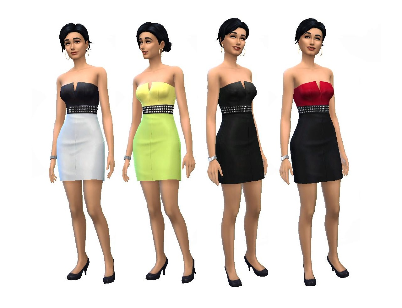 Texture overrides: DressBeltShiny, DressSweaterMini by plasticbox