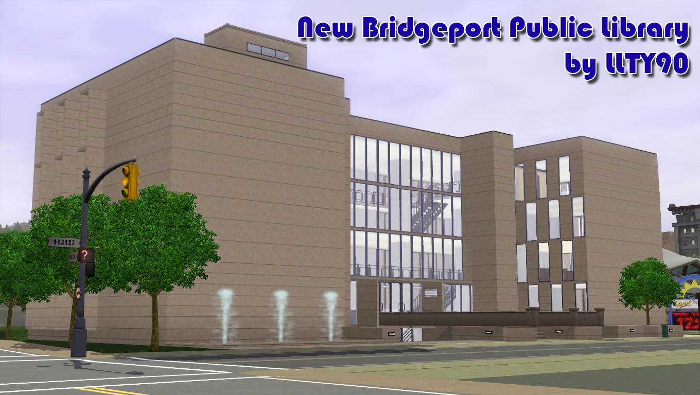 New Bridgeport Public Library by LLTY90