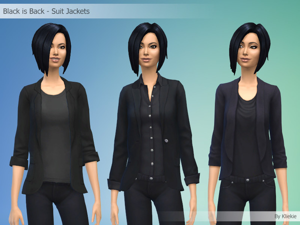 Black is Back - Suit Jackets by kliekie