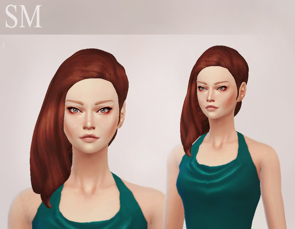 Penelope Hair for Females by Simaniacos