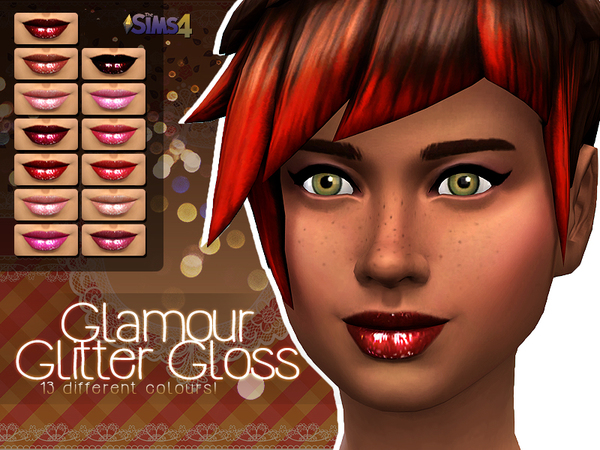 Glamour Glitter Gloss by Shishinom