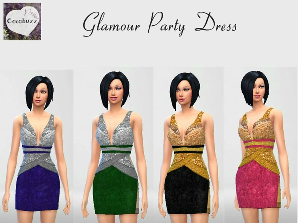 Glamour Party Dress by Cocobuzz