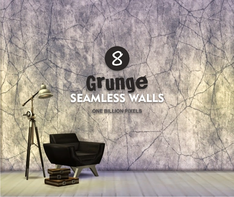 8 Grunge Seamless Walls at One Billion Pixels