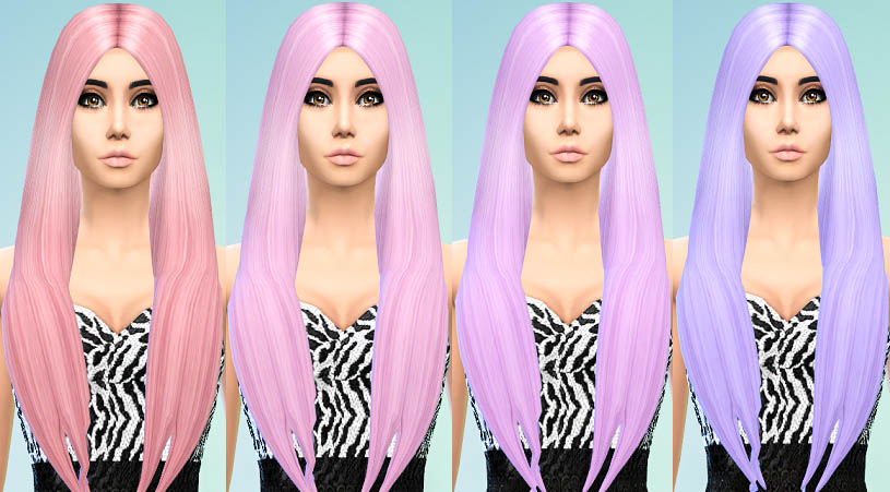 David Sims Long Classic Hair Recolors by Ohmyglobsims