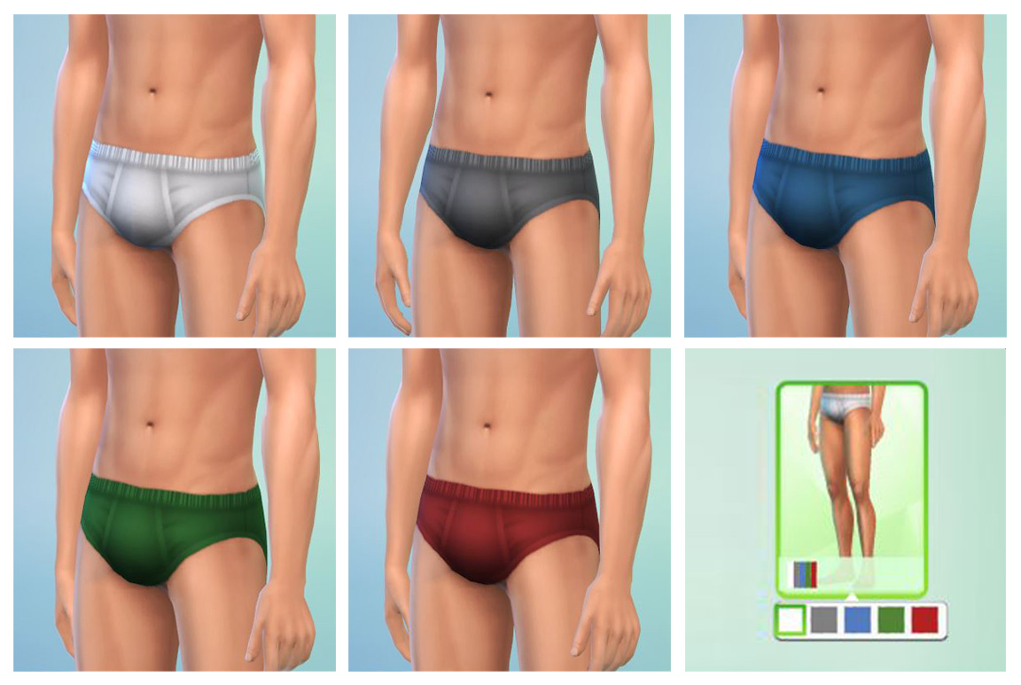 Basic Male Briefs by Menaceman44
