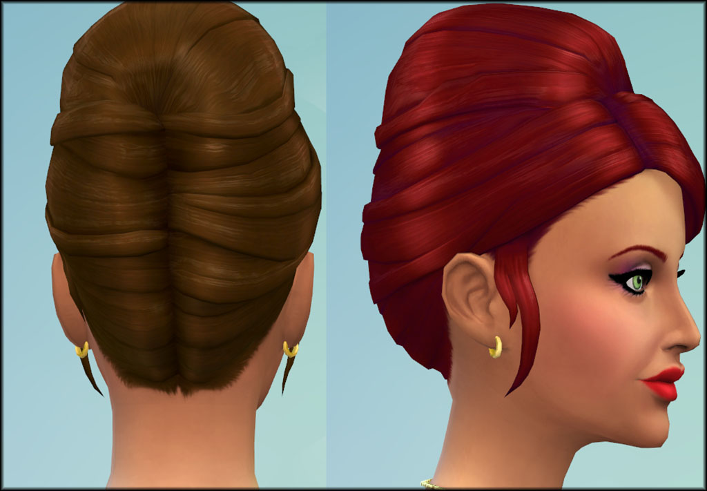 Higher Updo for Females by Julie J