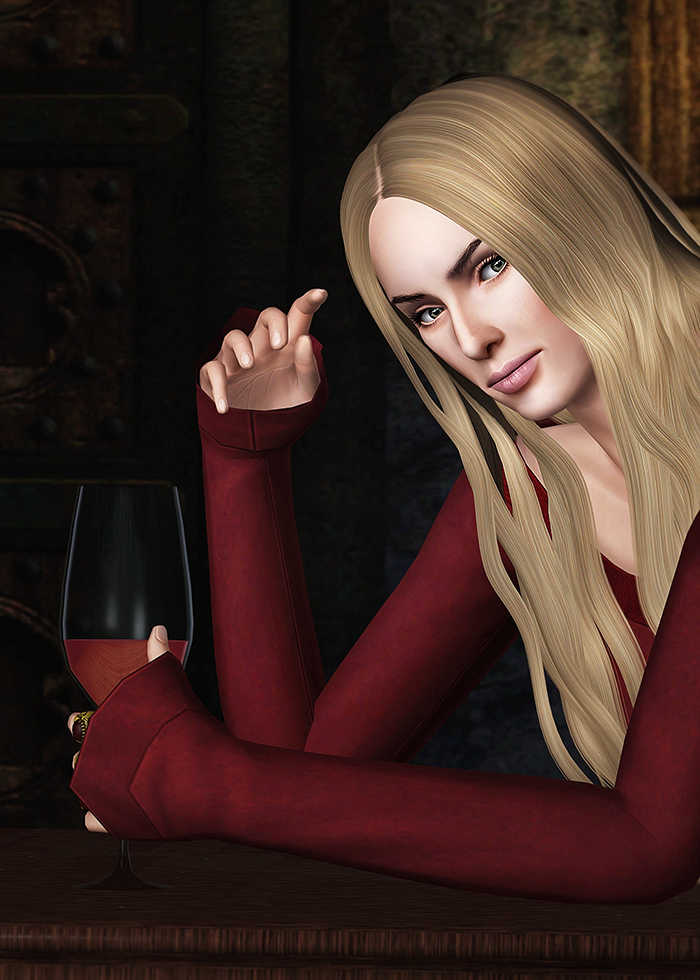Cersei Lannister Game of Thrones by Kurasoberina