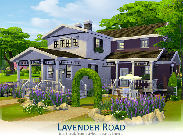 Lavender Road by Lhonna