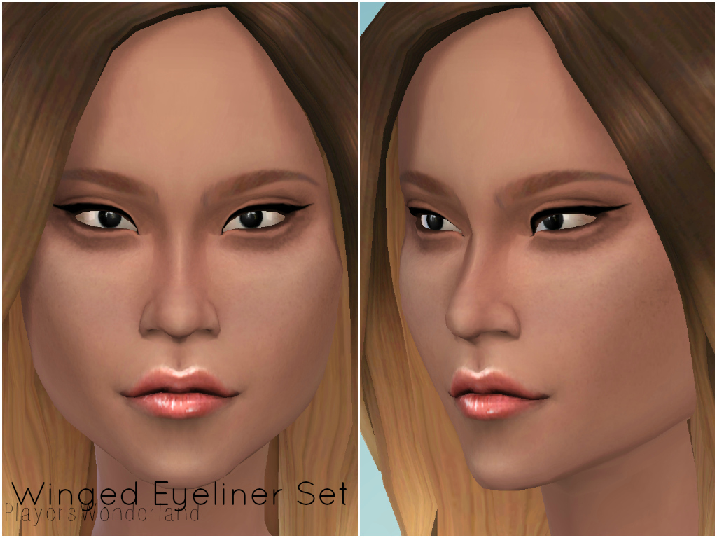 Winged Eyeliner by PlayersWonderland