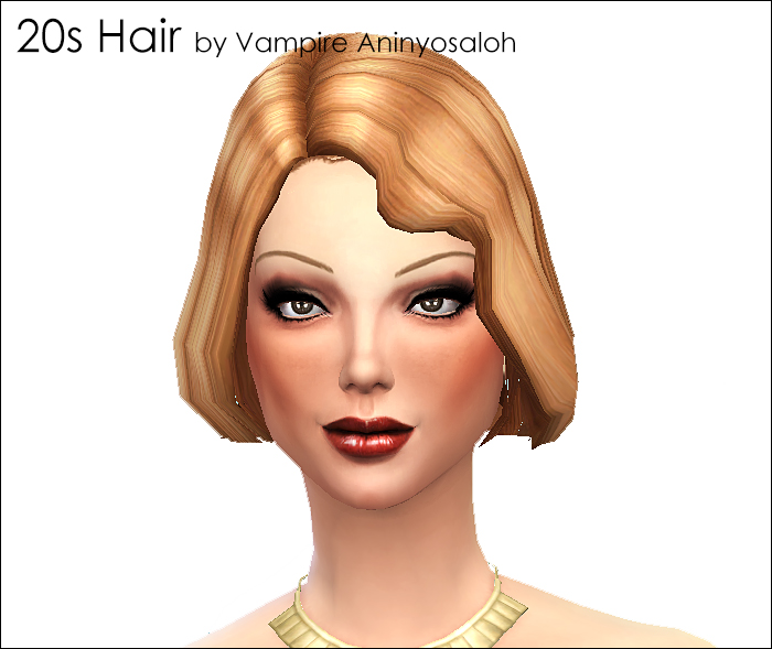 20s Hair -NEW MESH- by Vampire_aninyosaloh