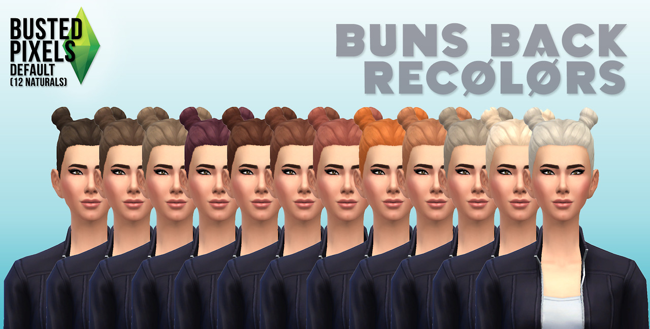 Hair Recolors by Busted Pixels