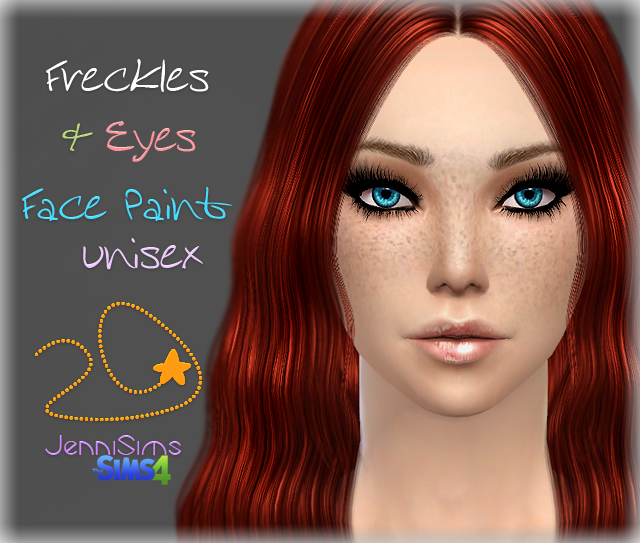 Freckles & Eyes by Jenni