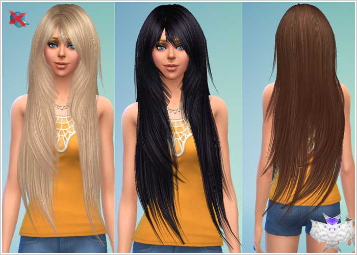 TS2 to TS4 - Rose 94 Hair for Females Converted by David
