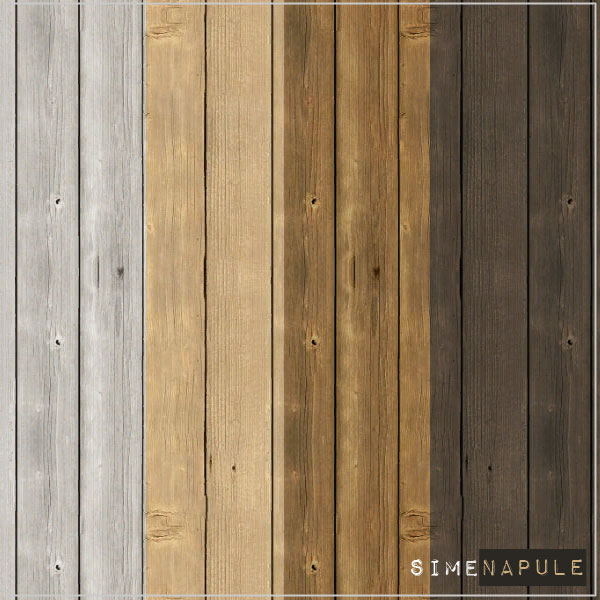 Wood Wall 02 by Ronja