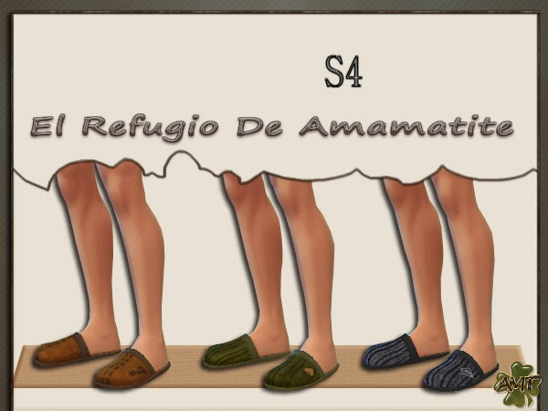 Slippers for Males by Amamatite