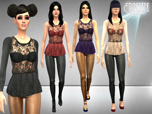Haute to Lace and Leather Set by ernhn