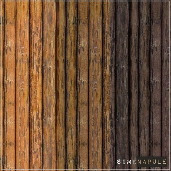Wood Wall 01 by Ronja