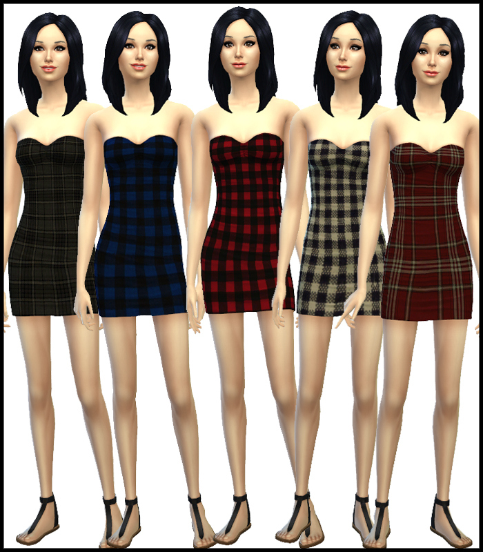 Random Ruched Dress Collection for Teen - Elder Females by Simista