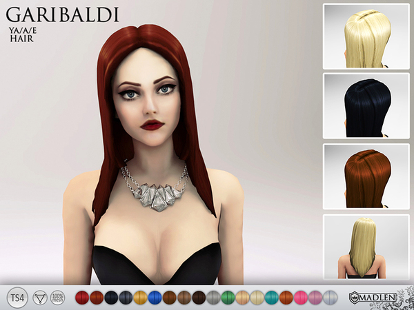 Madlen Garibaldi Hair by MJ95