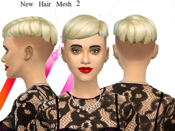 new mesh, punk hair 2 by neissy