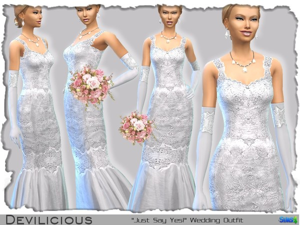 Just Say Yes! Wedding Outfit  by Devilicious