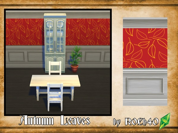 Autumn Leaves 3pc. Wallpaper Set by ROCH40