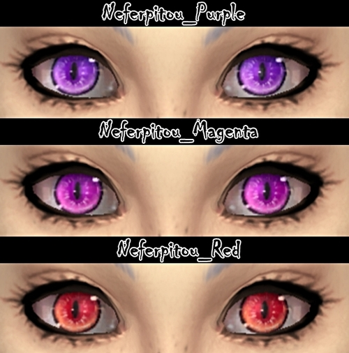 Neferpitou eyes at DecayClowns Sims