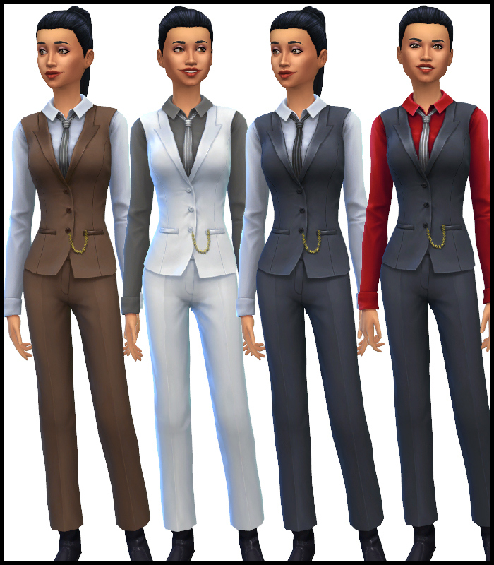 Female Mob Boss Suit Unlocked for Teen - Elder Females by Mr S