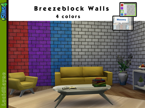 Breezeblock Walls by LucidRayne