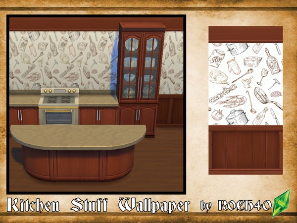 Kitchen Stuff Wallpaper by ROCH40
