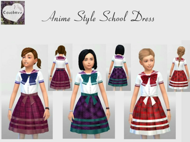 Anime Style School Dresses by Cocobuzz