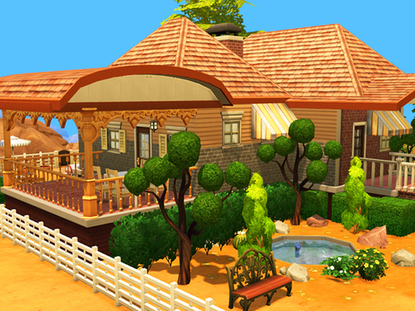 Little country house by Pinkzombiecupcakes